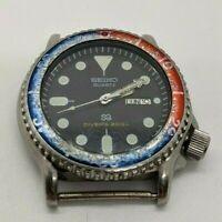 Vintage Seiko S2 Scuba Divers 200m Pepsi Bezel  5H26-7A19 [1D0797] READ