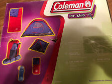 Coleman for Kids Sleeping Bags&  Tents & Backpack