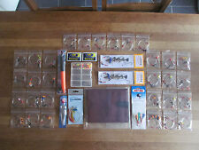 Sea fishing Rig Pack x 30 rigs, 1 rig Wallet, 2 feathers, Float kit, Spinner