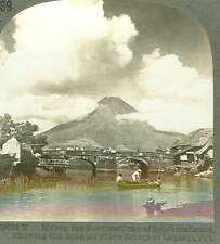 Wsa5434 Keystone 10053T Mayon & Old Spanish Stone Bridge Legaspi PI D