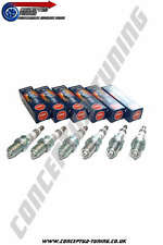 6 x Uprated NGK Iridium Spark Plugs HR7- For R34 GTT Skyline RB25DET Neo