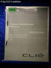 Sony Bedienungsanleitung PEG S300 /E Entertainment Organizer (#1876)