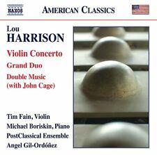 Lou Harrison: Violin Concerto Grand Duo & Double Music [New CD]