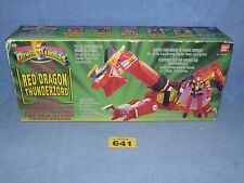 POWER RANGERS RED DRAGON THUNDERZORD BOXED ALL PARTS 641