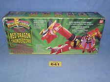 POWER Rangers Red Dragon Thunderzord Boxed tutte le parti 641