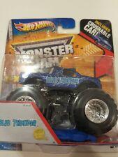 Hot Wheels 2013 Monster Jam Crushable Car *Blue Thunder* Max-D