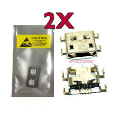 2 X New Micro USB Charging Sync Port Charger For ZTE Score X500 / V956 USA