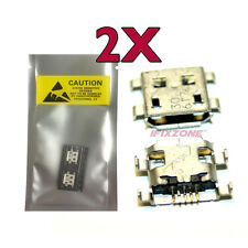 2 X New Micro USB Charging Sync Port HUAWEI Ascend Y200 Y300 G300 G510 G520 USA