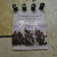 Sansui AU-517 AU-719 rebuild restoration recap service kit fix repair capacitor