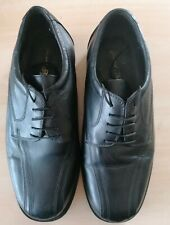 Edward Timpson Mens black leather formal lace up shoes size 10