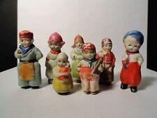 Vintage Frozen Charlotte/Penny Doll - 7 Piece Lot - Japan