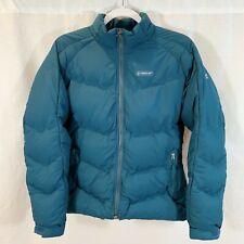 Timberland Puffer Coat Jacket Teal Lightweight Womens Medium Warm