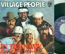 "VILLAGE PEOPLE - IN THE NAVY ( DUTCH PHILIPS 6075053) 7""PS  1979"