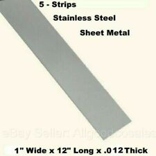 """36/"""" Length Mill Stock 0.25/"""" 304 Plate 1//4/"""" x 1/"""" Stainless Steel Flat Bar"""
