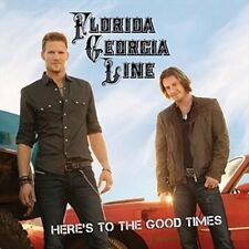 Florida Georgia Line Heres to The Good Times CD Country 2013