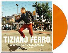 "Tiziano Ferro - Lento / Veloce Remixes (Limited 10"" EP orange vinyl)  07/07/2017"