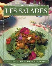 Les Salades: 40 Recettes Délicieuses pour la Maison (Flavours Cookbook) (French