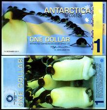 Antarctica 1 Dollar, 2011, Polymer, UNC