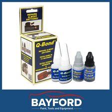 Q-BOND PLASTIC REPAIR KIT SYSTEM SMALL - BONDING GLUE - QBOND