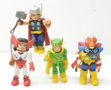 Marvel Minimates Thor Stormbreaker Set SDCC Ex Sif Beta Ray Bill Loki