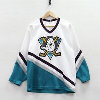 Vintage Anaheim Mighty Ducks CCM Maska Jersey Size Large 90s NHL Stitched
