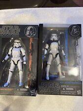 star wars black series 6 inch Sandtrooper/ Storm trooper lot