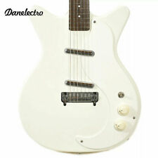 Danelectro '59 Mod D59M New Old Stock Plus White Classic Electric Guitar - New