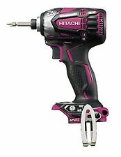 Hitachi 18v Cordless Impact Driver Wh18ddl2 (nn) Powerful Red Body Only