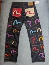 Evisu archive 21 pocket / multi pocket jeans - RARE - 34W/35L - RRP £300+