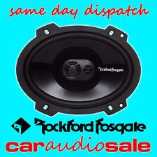"ROCKFORD FOSGATE PUNCH P1683 6""X8"" 3 WAY COAXIAL FULL RANGE CAR VAN SPEAKERS"