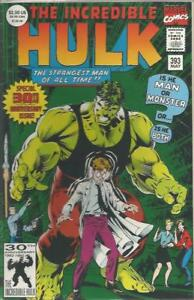 INCREDIBLE HULK (1968) #393 - Back Issue (S)