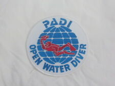 New listing Padi Open Water Diver Iron On Patch Scuba