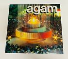 """YAACOV AGAM """"AGAM"""" HARDCOVER BOOK WITH COLOR PAGES"""