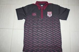 QLD Rugby Maroons mens Polo Shirt, Large