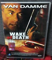 Wake Of Death DVD Jean Claude Van Damme Action Movie Ex Noleggio Come da Foto N