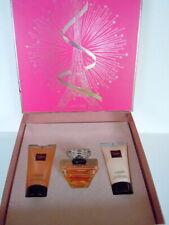 LANCOME TRESOR GESCHENK-SET 50ml Eau de Parfum +50ml Duschgel +50ml Body Lotion