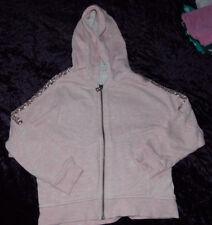 NEXT, Lightweight, Zip-up, hooded, sequined, Sweatshirt. Age 5-6YRS. Hardly worn
