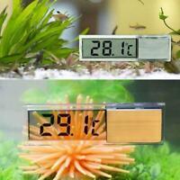 LED Digital Aquarium Thermometer Temperaturanzeige-Meter Wasser Sensor Fisc R8G6