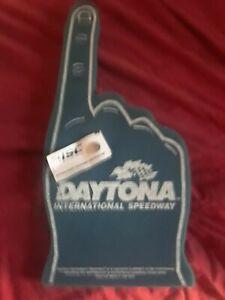 Daytona International Speedway Foam Hand Finger Brand New Still Has T