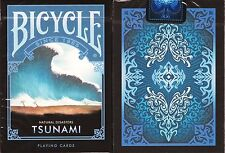 Tsunami Bicycle Playing Cards Poker Size Deck USPCC Custom Limited Edition New