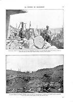 WWI Bataille de Verdun Reprise de Douaumont Major & Infirmiers  A ILLUSTRATION