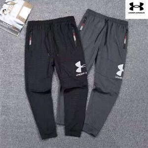 Under Armour Men's UA Big Loge Tracksuit Bottoms Sports Joggers Trousers