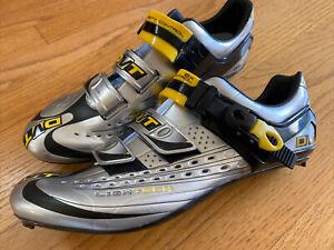 New DMT Mens Light Tech Hardened Carbon Cycling Shoes Size 45.5EU/11.5US