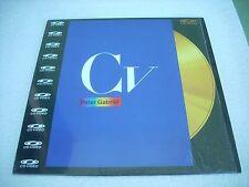 PETER GABRIEL / CV - Videos European Laserdisc PAL
