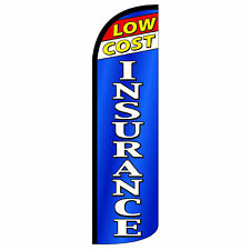 Low Cost Insurance Extra Wide Windless Swooper Flag