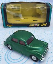 VINTAGE SPOT ON 289: MORRIS MINOR 1000. RARE GREEN. VN MINT, ORIGINAL BOX SUPERB
