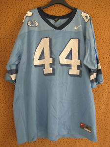 Maillot CN Football Americain Team Shirt Vintage #45 Nike Bleu Jersey - XL