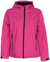 55ec957be7dd New Pulse Womens Plus Soft Shell Hooded Jacket 1X 2X 3X 4X 5X 6X Pink 28
