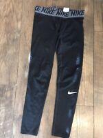 Nike Pro Men's Dri-Fit 3/4 Training Workout Tights 838055-091 Black SMALL