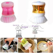 Small Kitchen Wash Tool Pot Pan Dish Bowl Palm Brush Scrubber Cleaning Cleaner
